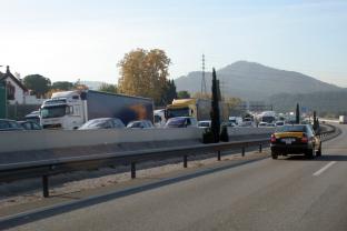 Mor un veí de Sant Cugat en un accident de trànsit al Baix Llobregat