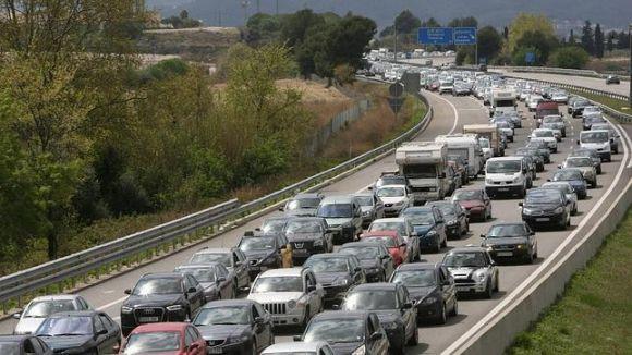 Uns 262.000 vehicles tornaran a l'àrea metropolitana de Barcelona pel final del pont del Pilar