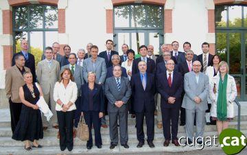 Lluís Recoder: 'L'eix estratègic de l'E-9 és un eix de futur'