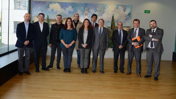 L'equip de govern es reuneix amb Pimec per estrènyer relacions