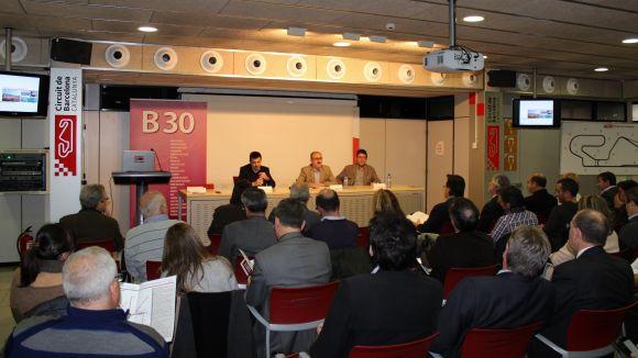Àmbit B30 i la Generalitat debaten sobre les oportunitats del Parc de l'Alba