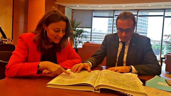 Conesa demana a la Generalitat que inclogui els Túnels de Vallvidrera en la supressió de peatges