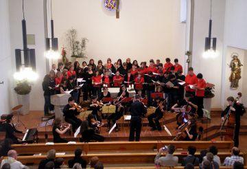 Concert d'un any anterior junt amb el cor de Reutlingen