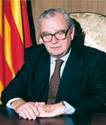 Reventós va ser president del Parlament del 95 al 99.