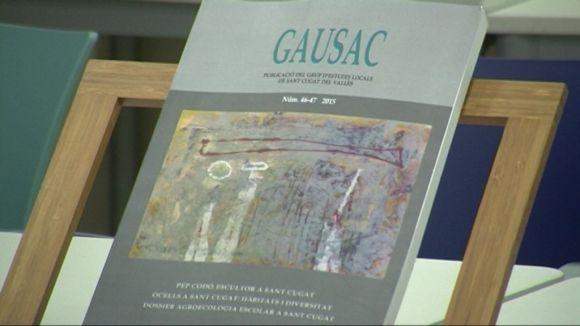 El GEL presenta en societat el darrer número de la revista 'Gausac' i la nova 'Dossiers de Sant Cugat'