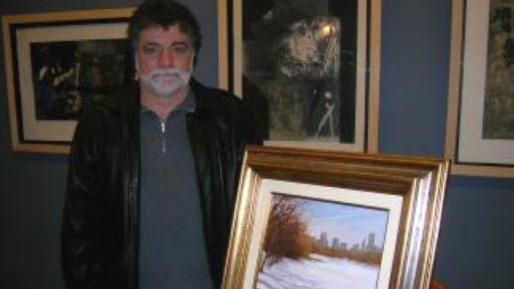 Lluís Ribas mostra indrets dels seus viatges en la seva nova exposició a la ciutat