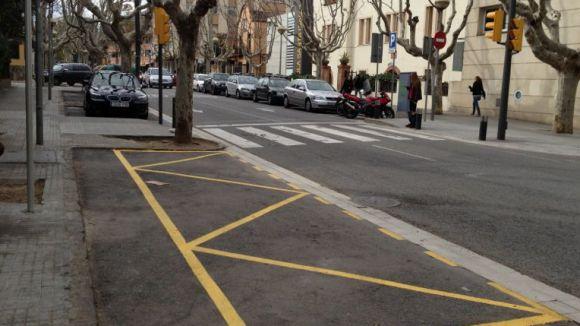 L'Ajuntament estudiarà crear aparcaments especials per a embarassades