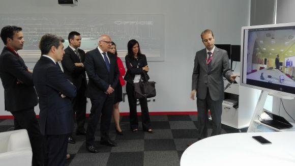 Ricoh referma l'aposta per Sant Cugat amb l'ampliació del centre de serveis compartits
