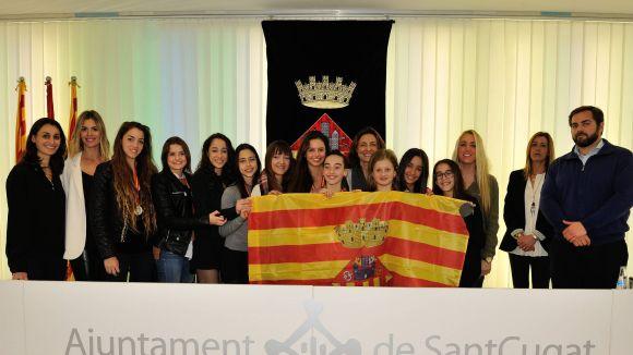 El Club Gimnàstica Rítmica i Estètica de Sant Cugat ascendeix a la primera divisió espanyola