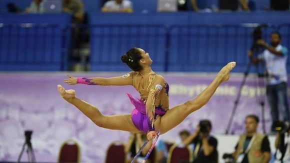 Natàlia Garcia acaba en 30è lloc i es queda fora de la final del Mundial de rítmica
