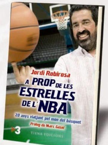 Jordi Robirosa presenta a la ciutat el llibre 'A prop de les estrelles de l'NBA'