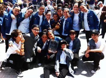 La formació juvenil santcugatenca de hip hop Rock The Beat guanya el campionat Viladekns