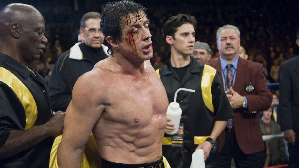 Moment de la pel·lícula 'Rocky' amb Sylvester Stallone
