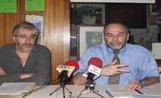 Els responsables de la Fundació Sant Cugat, Jordi Casas (esquerra) i Joan Gaia