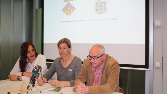 Una delegació institucional de La Haba tornarà la visita a Sant Cugat a l'estiu