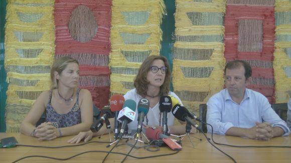 Conesa, amb Joana Barbany i Carles Brugarolas