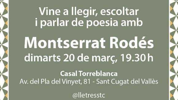 Espai poètic: Montserrat Rodés