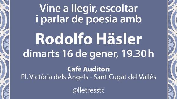 Espai poètic: Rodolfo Häsler