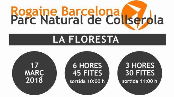 Sant Cugat acollirà l'inici i final de la 8a Rogaine de Barcelona-Parc Natural de Collserola aquest dissabte