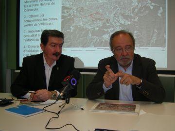 Romero i Giordani han explicat les al·legacions que presentaran