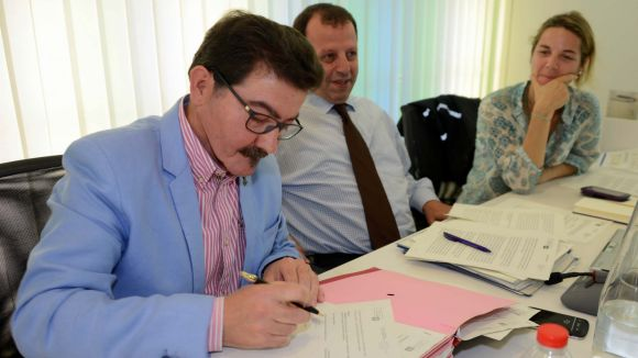 El regidor Josep Romero diu adéu a 21 anys de servei públic
