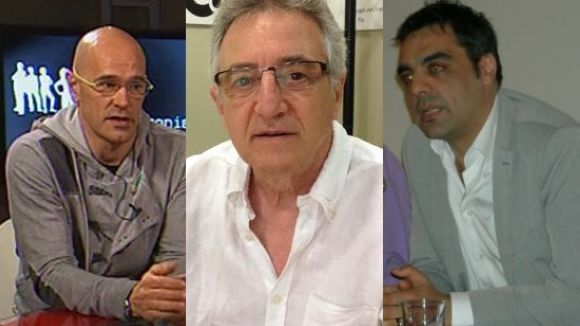 Raül Romeva, Víctor Alexandre i Jofre Llombart