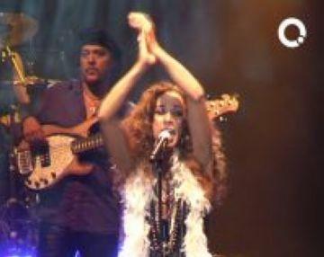 Rosario enceta la temporada del Teatre-Auditori amb un concert explosiu i enèrgic
