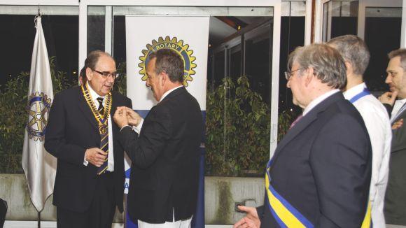 Jesús Ruiz assumeix la presidència del Rotary Club Sant Cugat