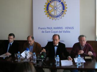 Maria Antònia Gili Marquès i els Amics de la Unesco, guardonats amb els premis del Rotary