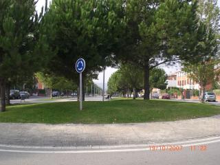 El consell de districte de Mira-sol confirma que la rotonda de l'avinguda Pompeu Fabra no es modificarà
