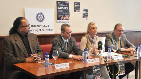 El Rotary dóna un cop de mà a Càritas en el concert benèfic