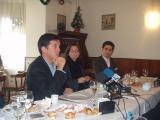 L'alcalde ho ha anunciat en l'esmorzar-balanç del 2003.