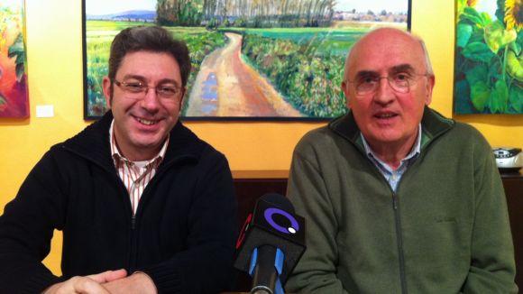 Els membres de la Penya Regalèssia Jordi Bell i Antoni Gómez han explicat els detalls del concurs
