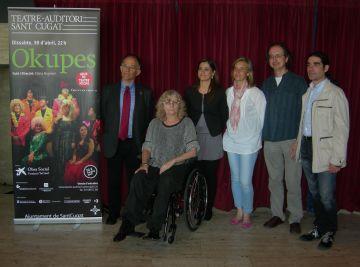 Femarec porta la comèdia 'Okupes' al Teatre-Auditori