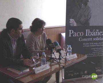 A la venda les entrades pel concert solidari de Paco Ibáñez