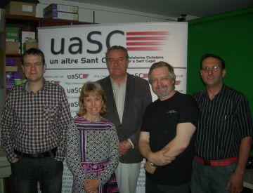 Forta presència del món associatiu a les llistes de la uaSC