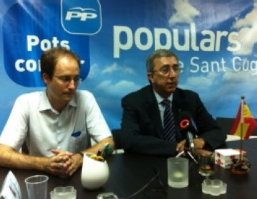 Bruno de Salvador i Jordi Carreras a la seu popular