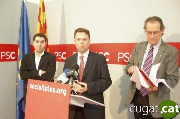 Josep Maria Balcells, Salvador Gausa i Ferran Villaseñor