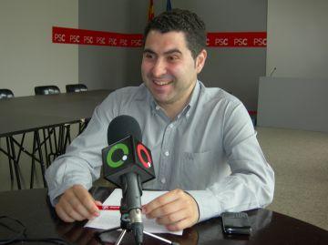 Villaseñor (PSC): 'CiU vol alentir la llei de l'Àrea Metropolitana per motius electorals'