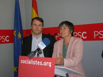 El PSC presenta una proposició no de llei per desencallar la polèmica sobre les obres de Renfe