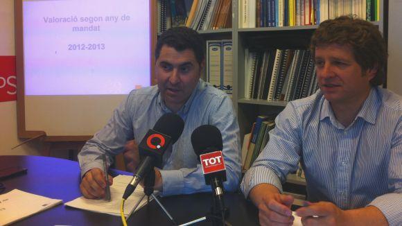 El PSC veu desorientat l'equip de govern el segon any de mandat