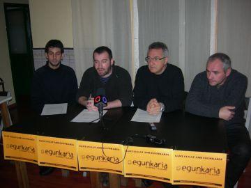 Periodistes de Sant Cugat reclamen l'arxivament del cas 'Egunkaria'