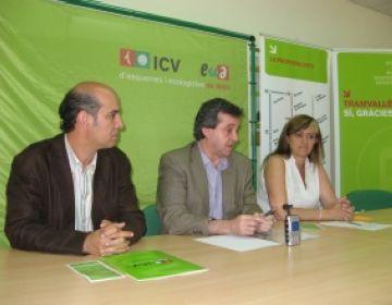 ICV-EUiA farà campanya a favor del Tramvallès durant la Festa Major