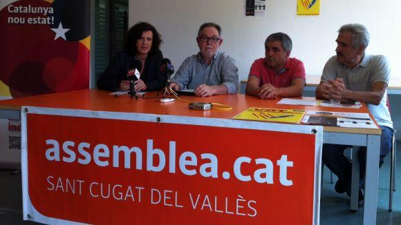 L'objectiu de la Via Santcugatenca és aconseguir 1.800 persones per la independència