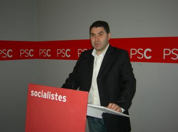 El PSC reconeix que calen més ajuts de la Generalitat però reclama responsabilitats també a l'equip de govern