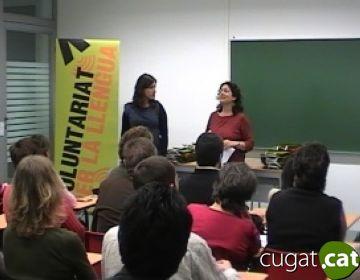 Falten aprenents de català al programa 'Voluntaris per la llengua'