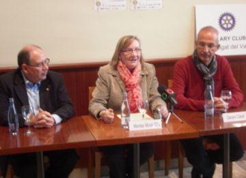 El Rotary Club anima els santcugatencs a col·laborar amb Càritas