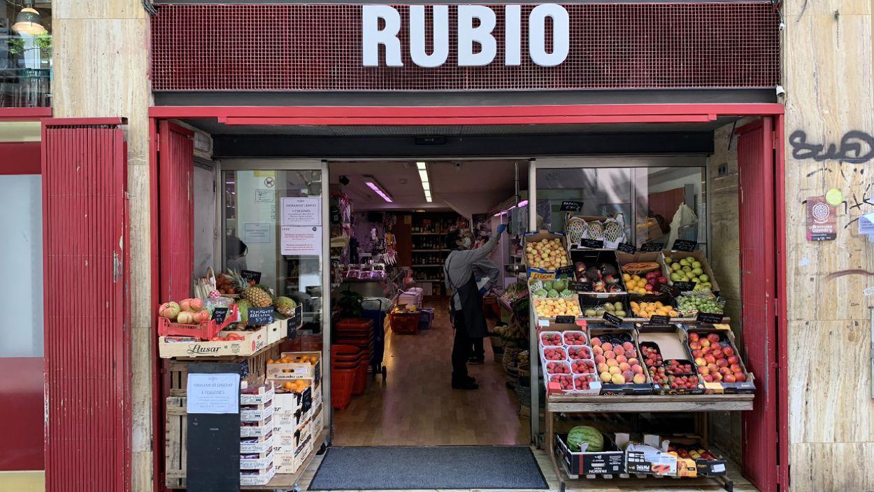 Autoservei Rubio és un dels colmados més històrics de Sant Cugat / Font: Cugat Mèdia (Lluís Llebot)