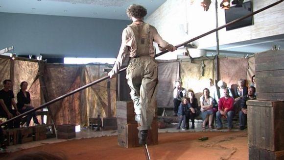 'Rudo' rendeix un tribut a l'esforç i la superació amb el llenguatge del circ