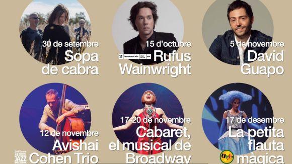 El Teatre-Auditori tanca la temporada amb rècord d'espectadors i portarà Rufus Wainwright a l'octubre